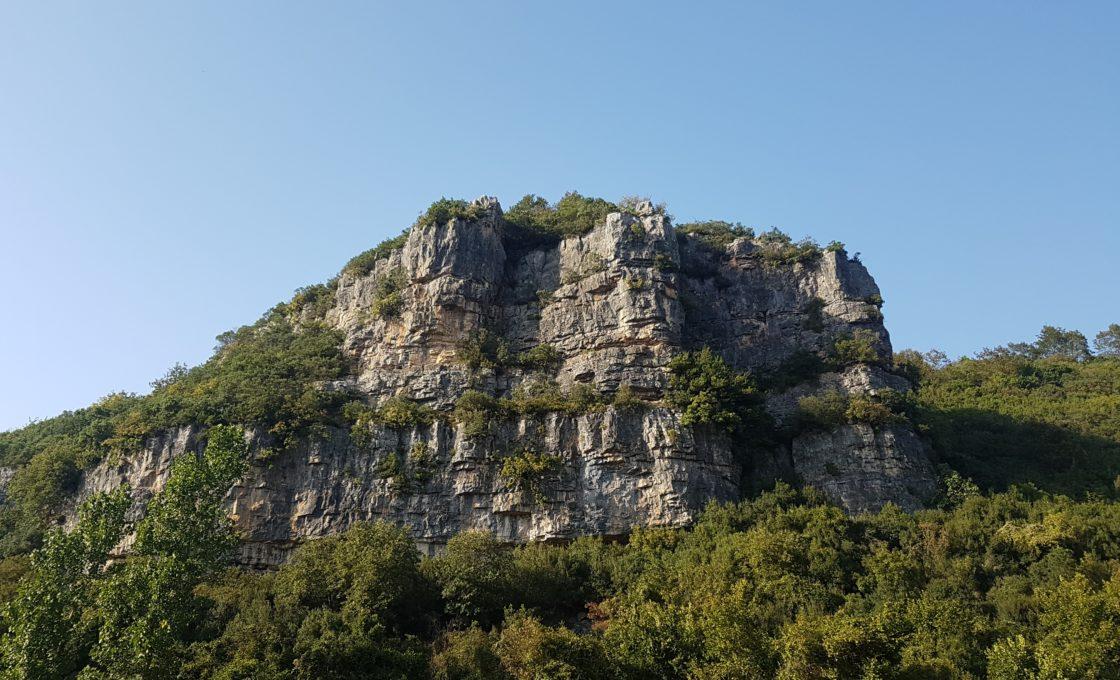 Hacıllı Şelalesi tırmanma alanı