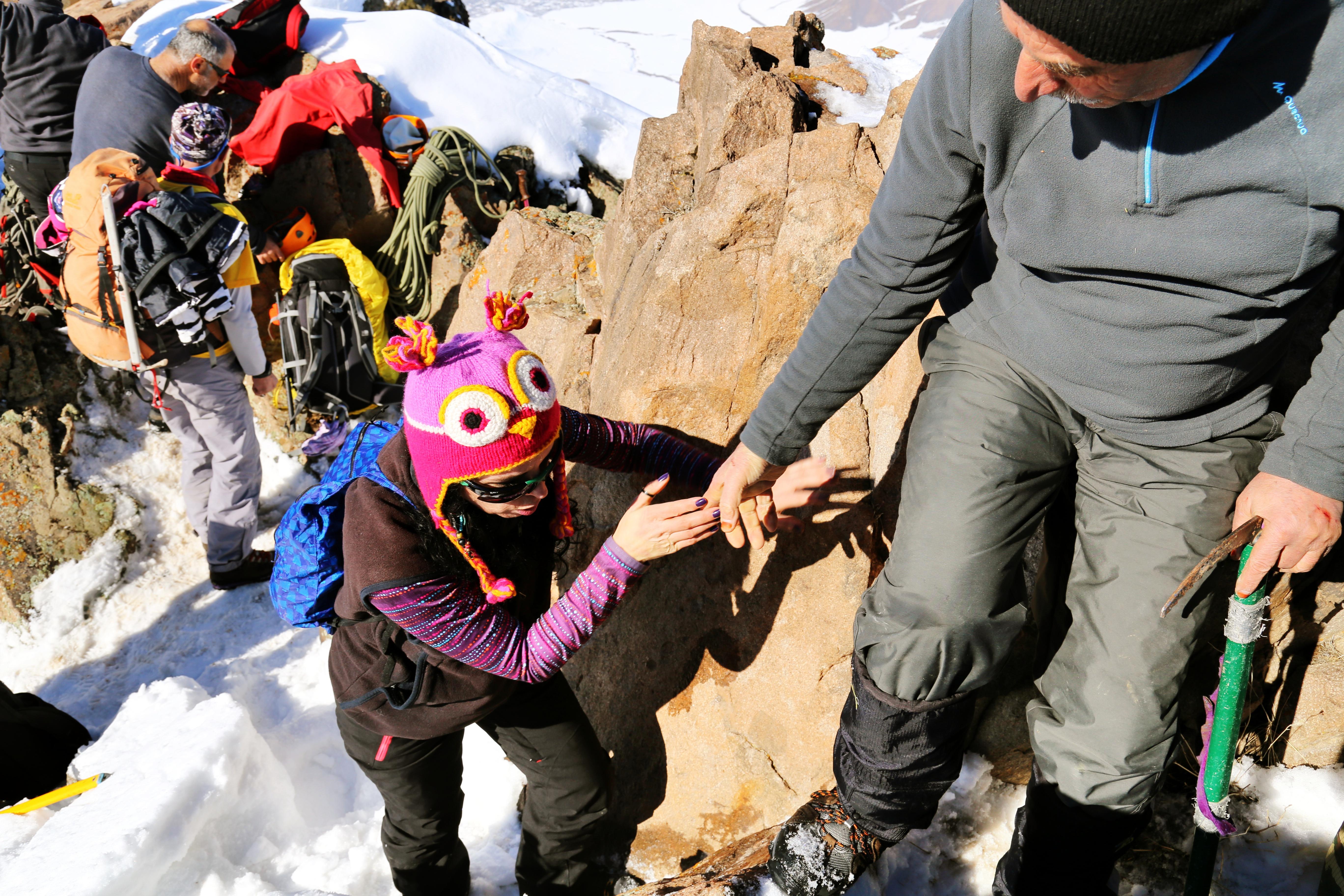 Nahçıvan, Haça Dağı tırmanışı