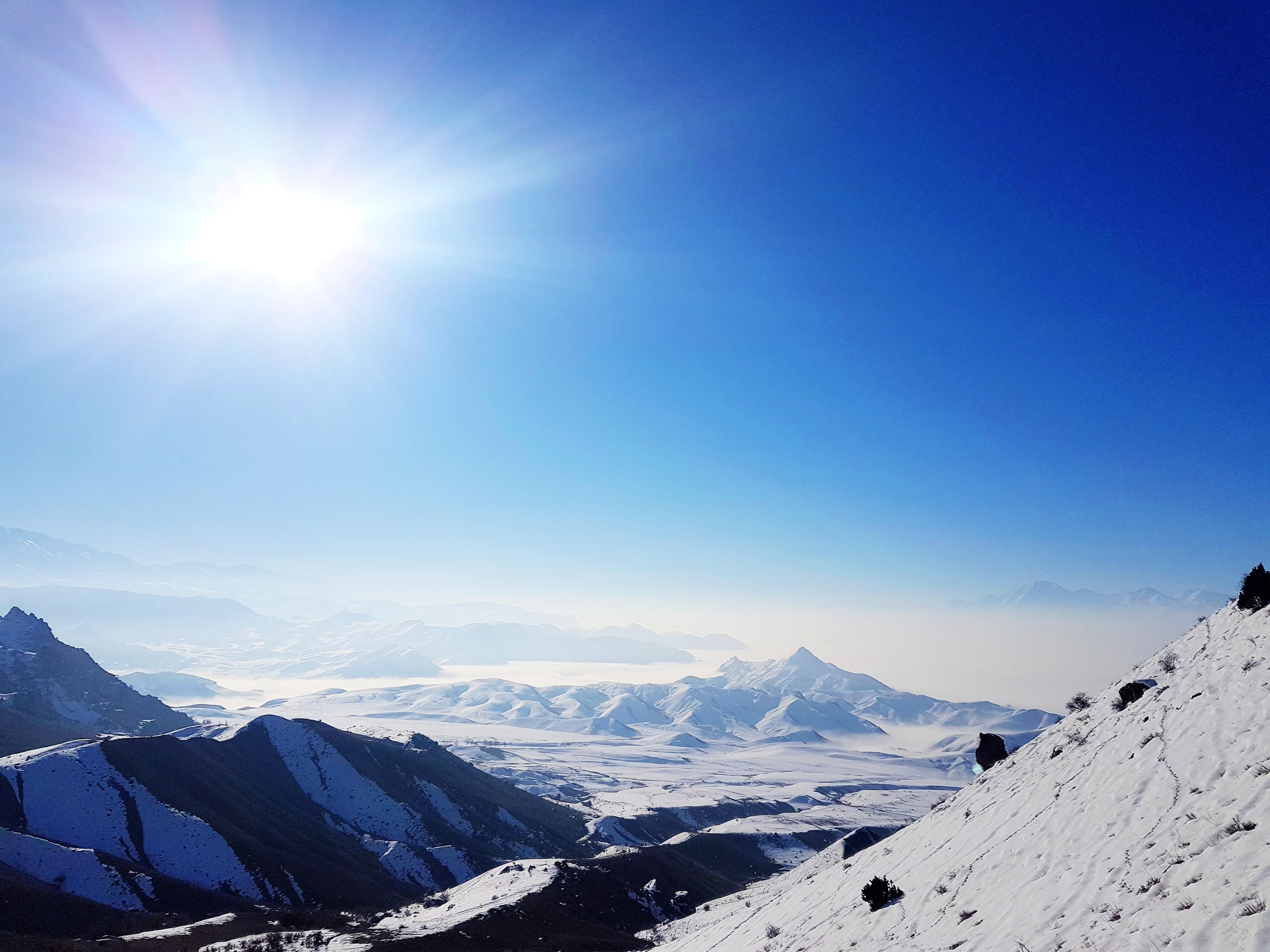 Haça Dağı manzaralar