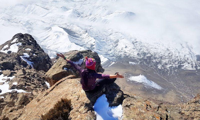 Nahçıvan Haça Dağı Tırmanışı