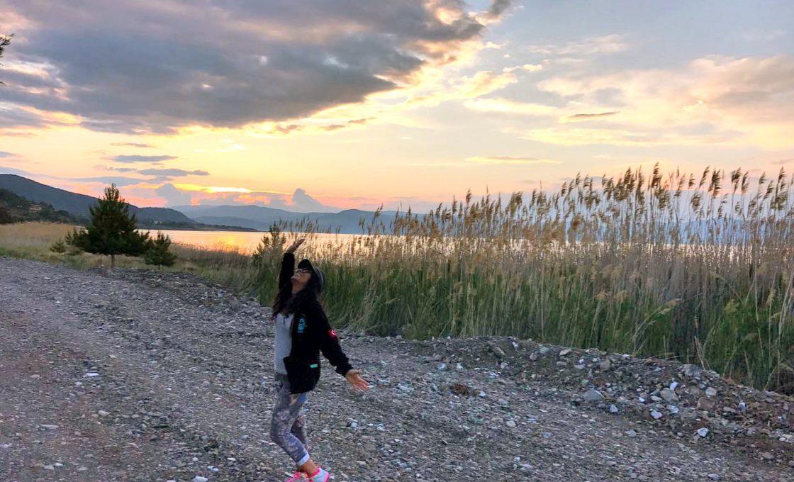 Salda Gölü Günbatımı