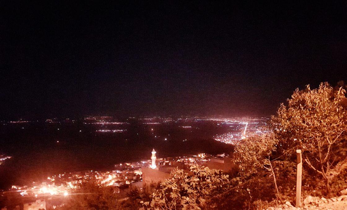 Mardin gece manzarası
