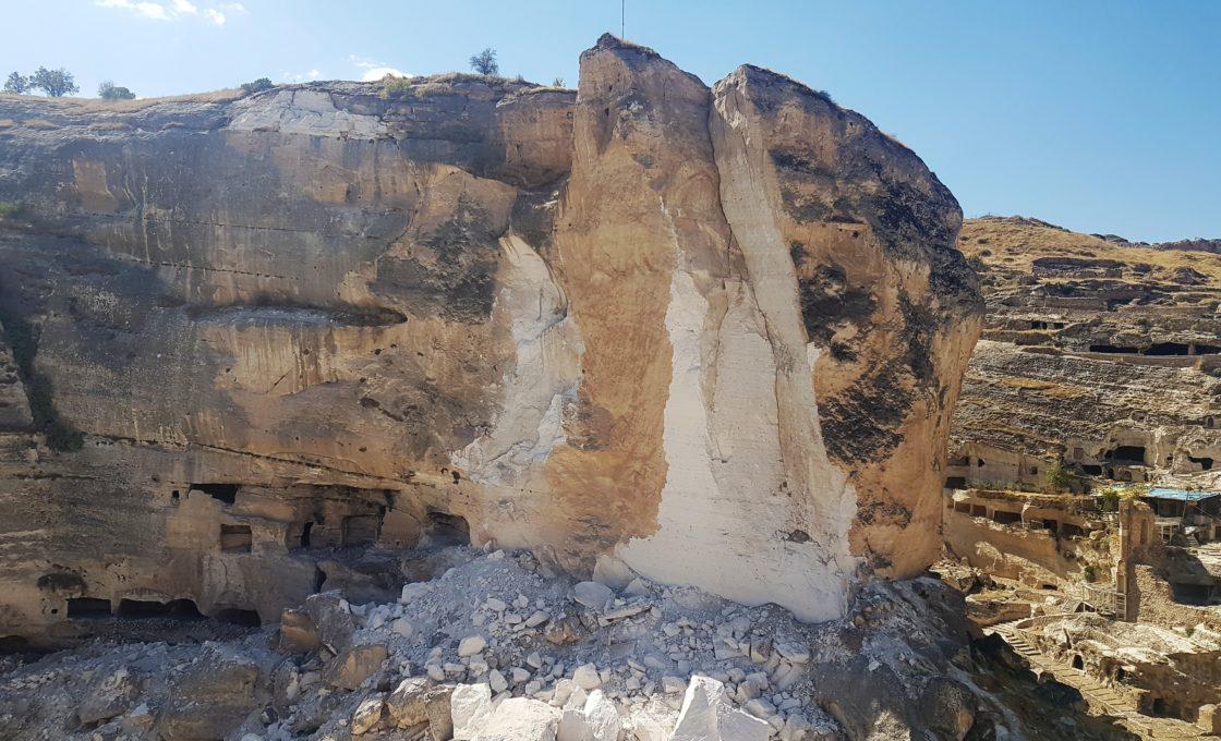 Dinamitle patlatılıp yok edilen Hasankeyf