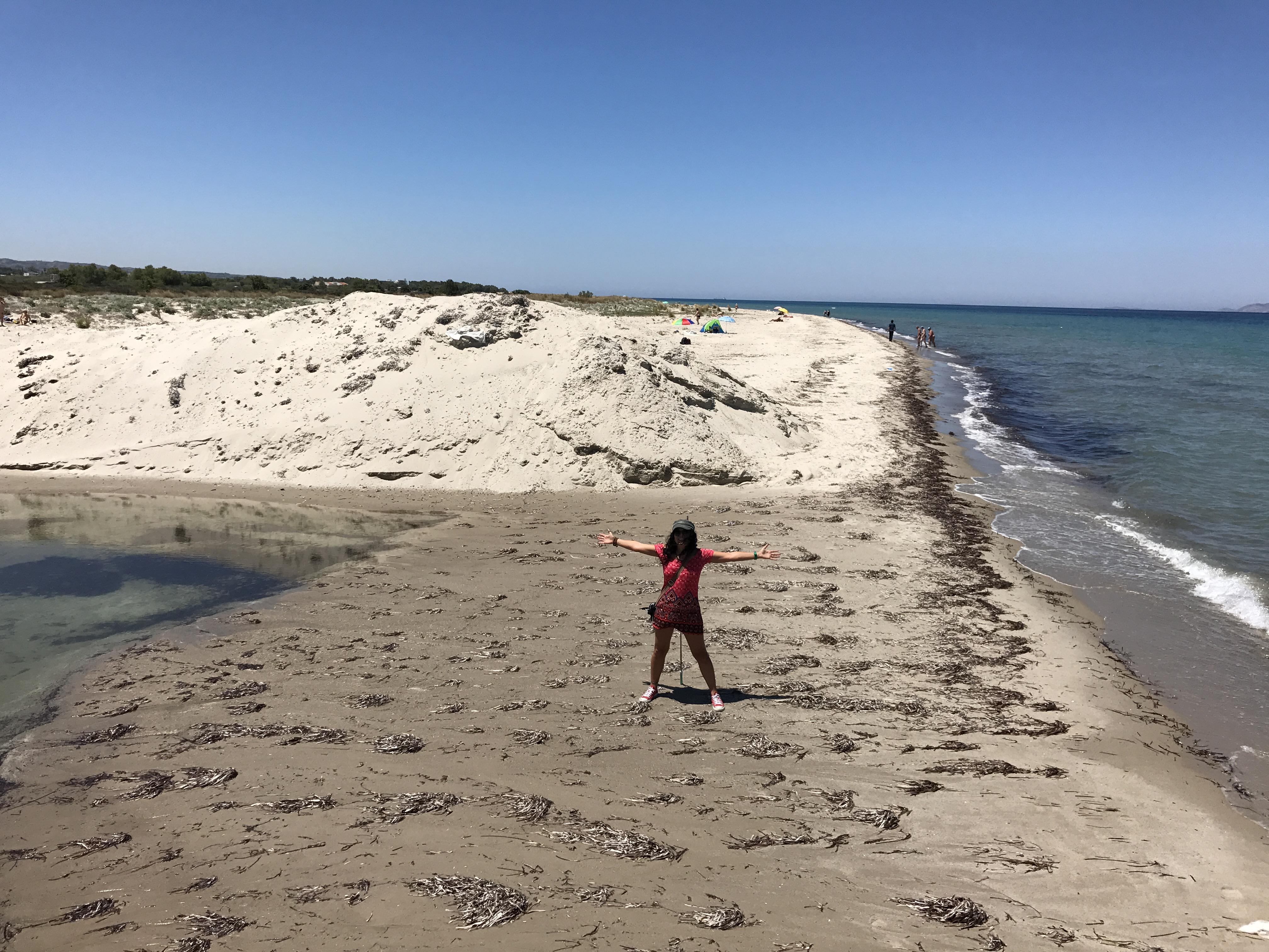 Tuz Gölünün denizle kavuştuğu yer