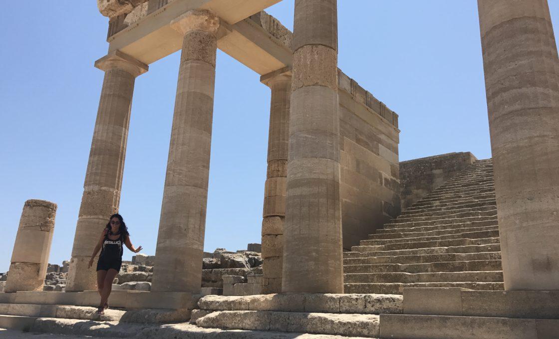 Lindos Athena Tapınağı