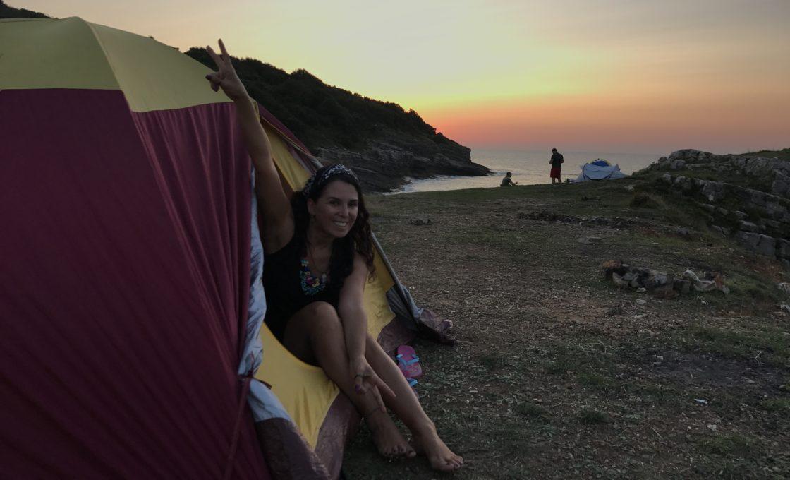 Sardala Koyu kamp