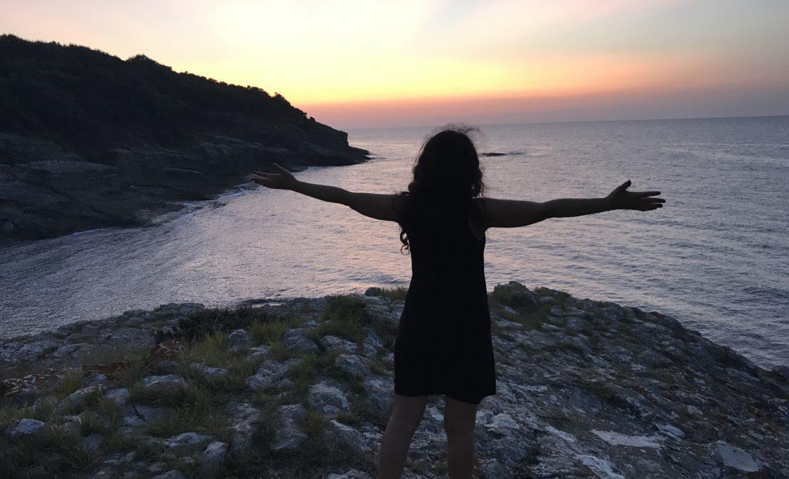 Sardala Koyu günbatımı
