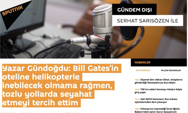 Sputnik News Gazete Haberim