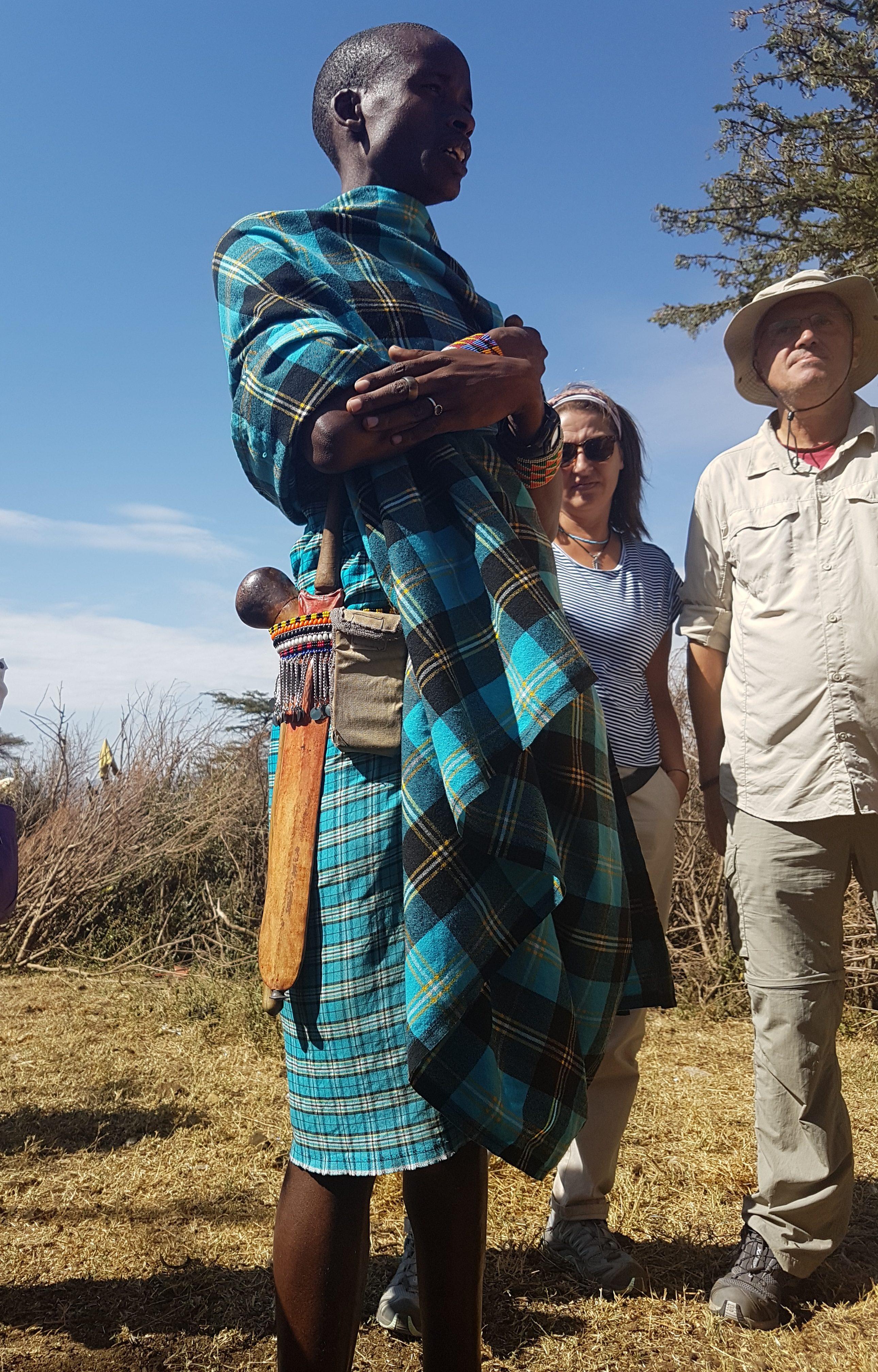 Masai Mara yerlisi