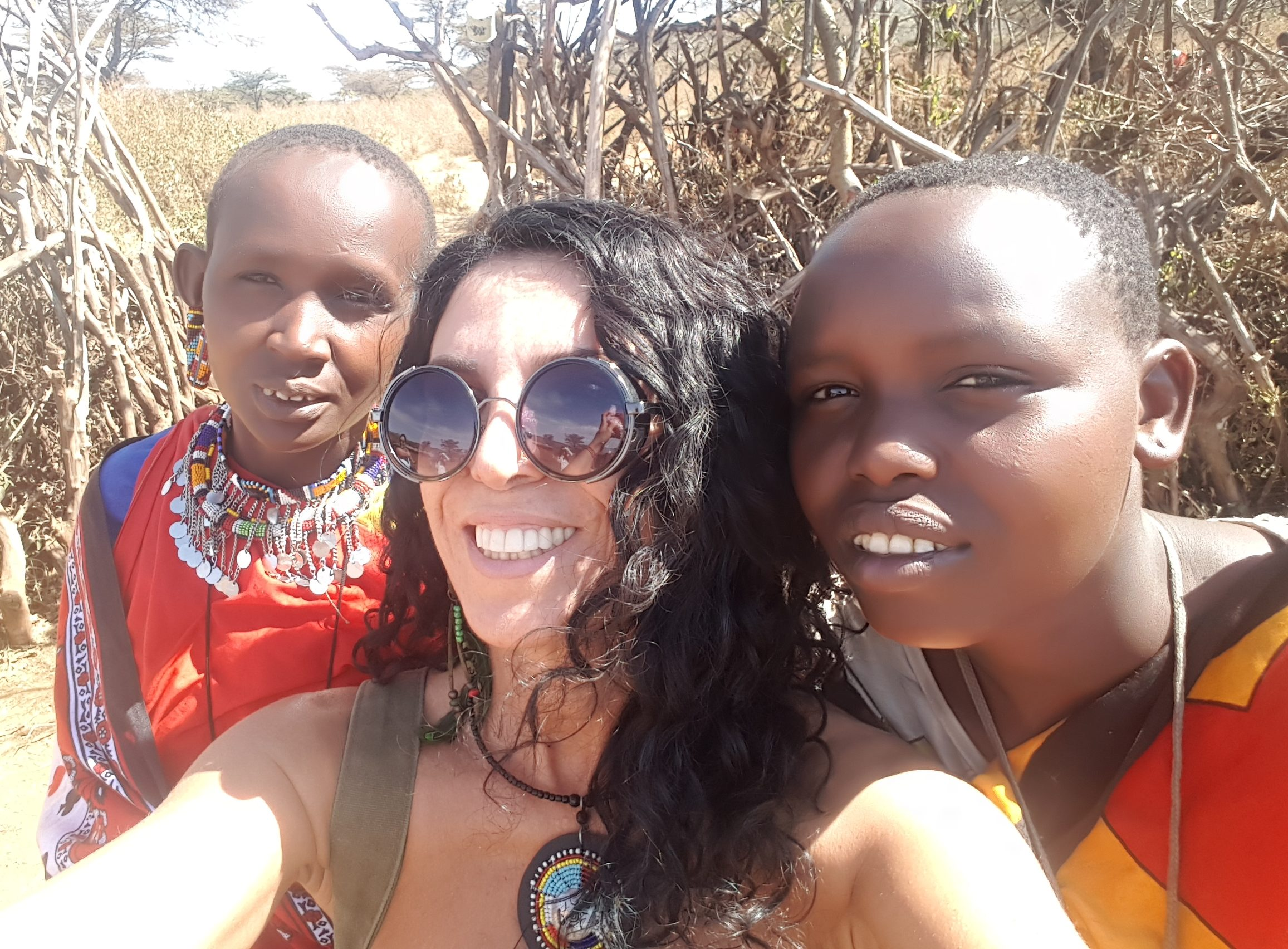 Masai Mara kadınları