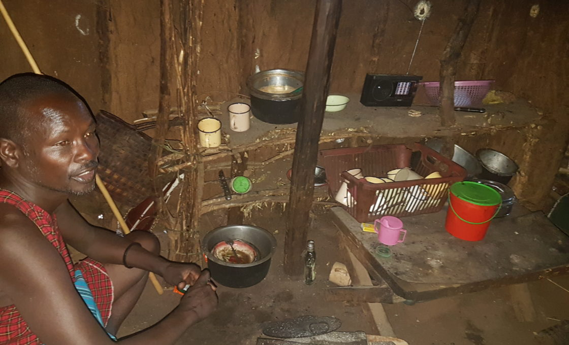 Masai yerli evi
