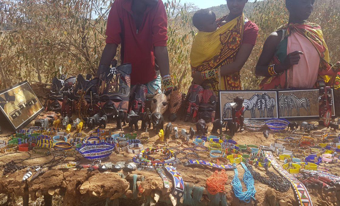 Masai Mara pazar