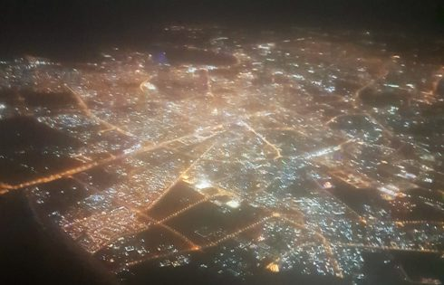Uçaktan Nairobi