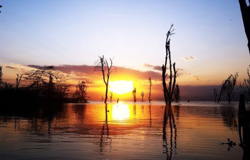 Lake Naivasha, Günbatımı