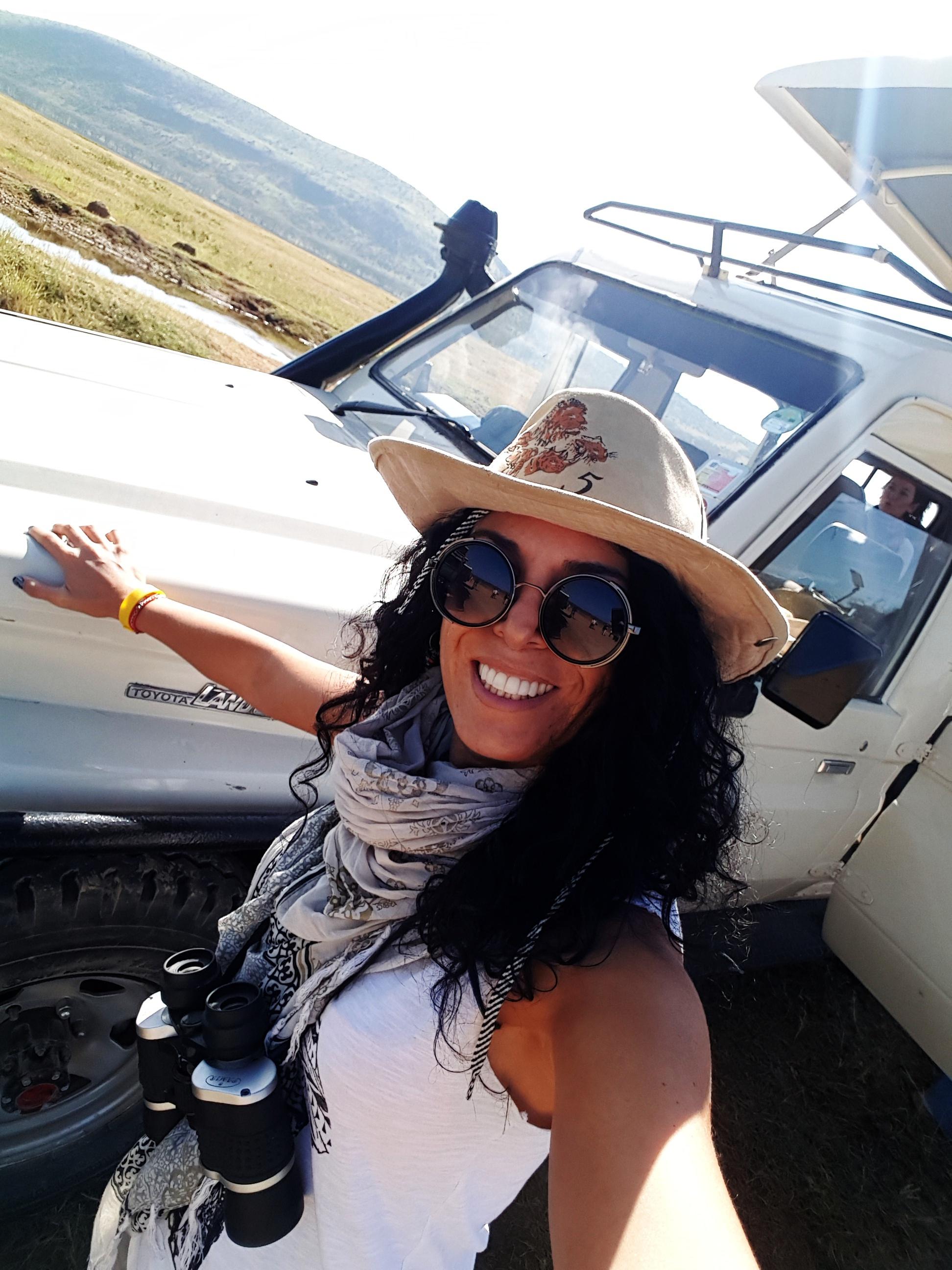 Masai Mara yolun başı