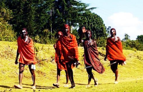 Masai Mara yerlileri