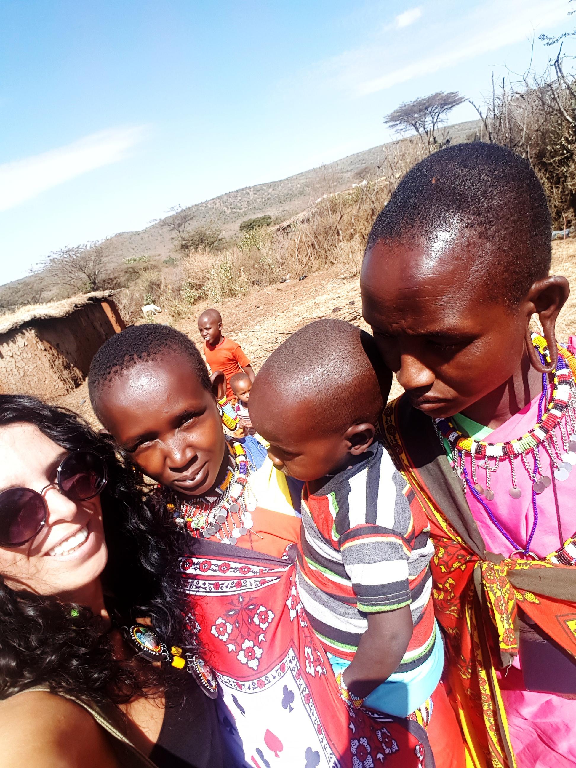 Masai kadınları