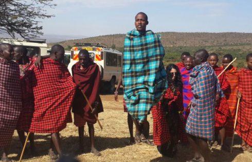Masai erkekleri
