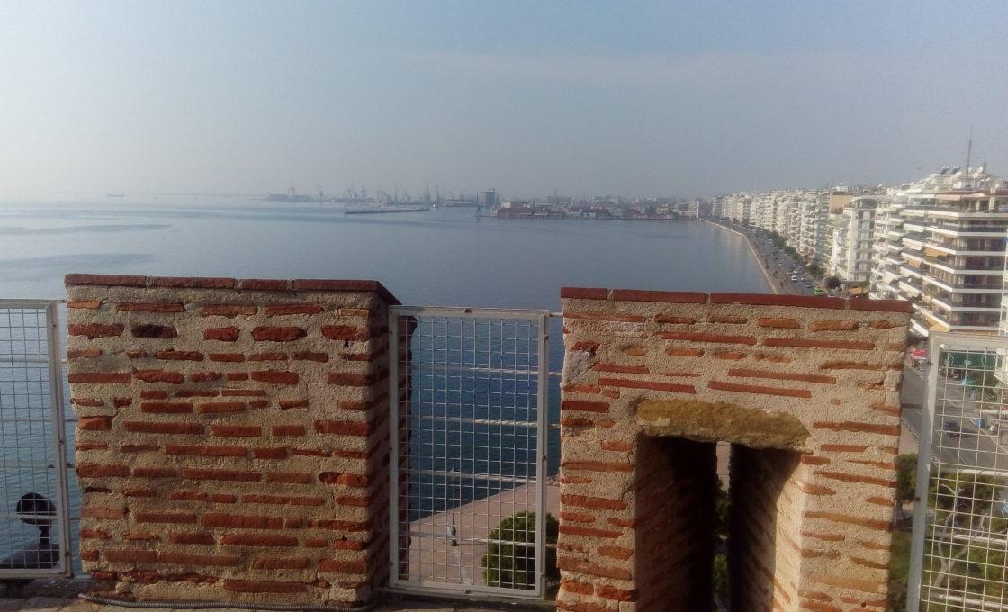 Beyaz Kule manzarası