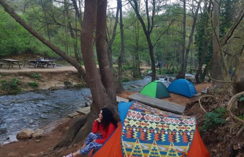 Ballıkayalar Kamp alanı