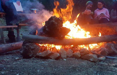 KAD ekibi kamp alanı