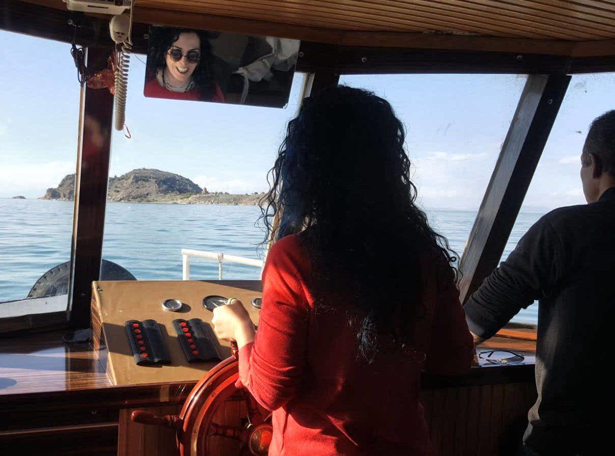 Van Gölün de tekne de mi kullanmayayım?
