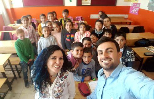 İnci Kefali İlköğretim İlkokulu sınıf öğretmeni Özkan Çörek