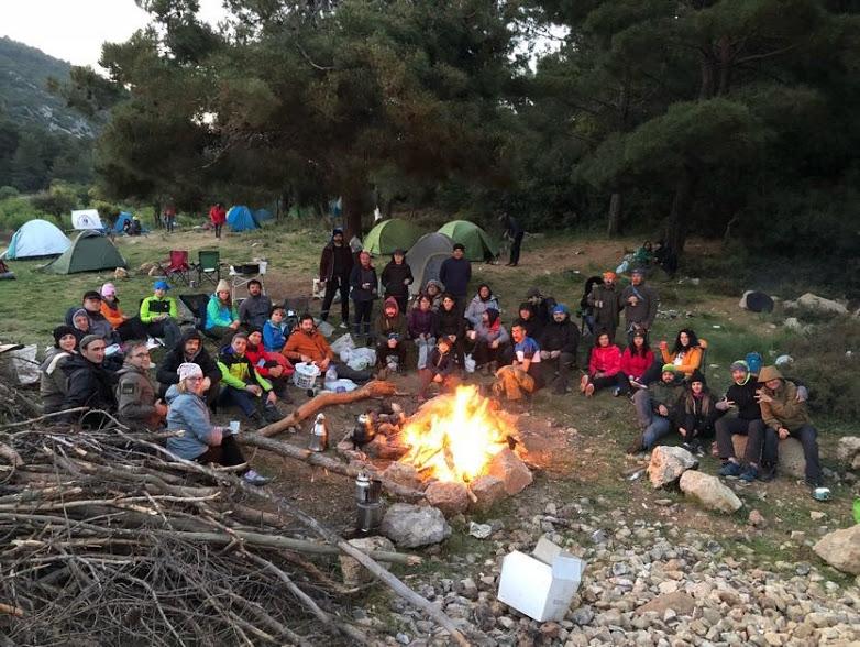 Kad Kanyon Ekibi Kamp Alanı