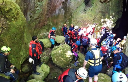 Ayvaiini Mağarası iniş hazırlıkları