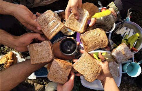 Adaca Kanyonu kahvaltı