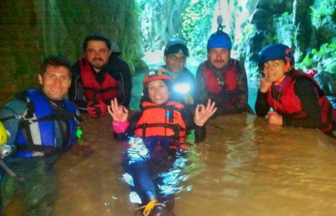 Ayvaini Mağarası Çıkış