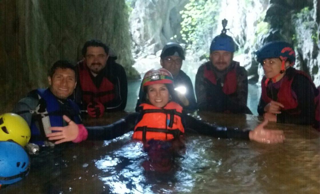 Ayvaini Mağarası çıkışı