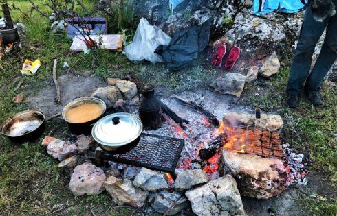 Yemekler hazırlanıyor