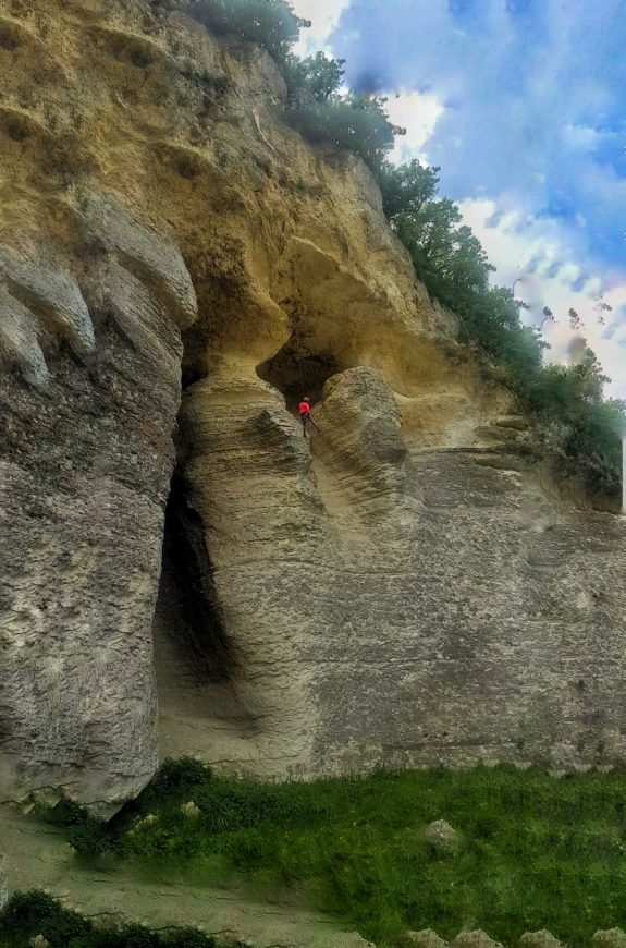 Kanara Kayalıkları negatif iniş