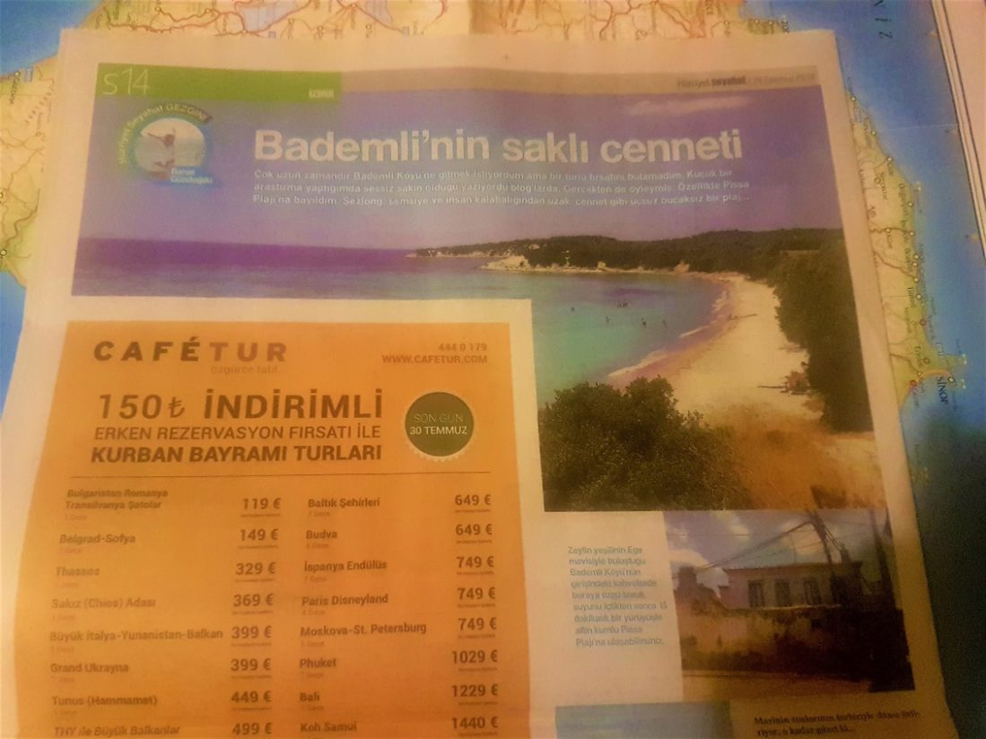 Hürriyet Seyahat Pazar Eki Yazılı Basın