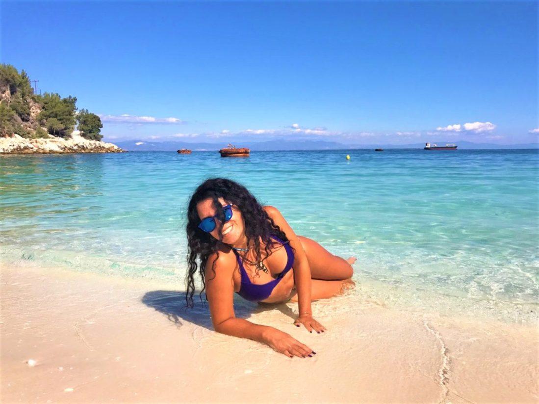 Thassos Adası, Marbel Beach