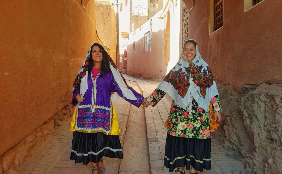 Abyaneh Kadını olduk