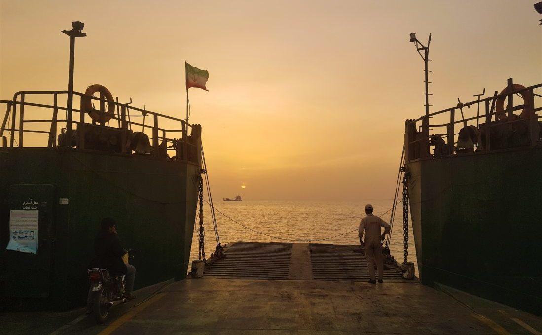 Keşm Adası, Feribot