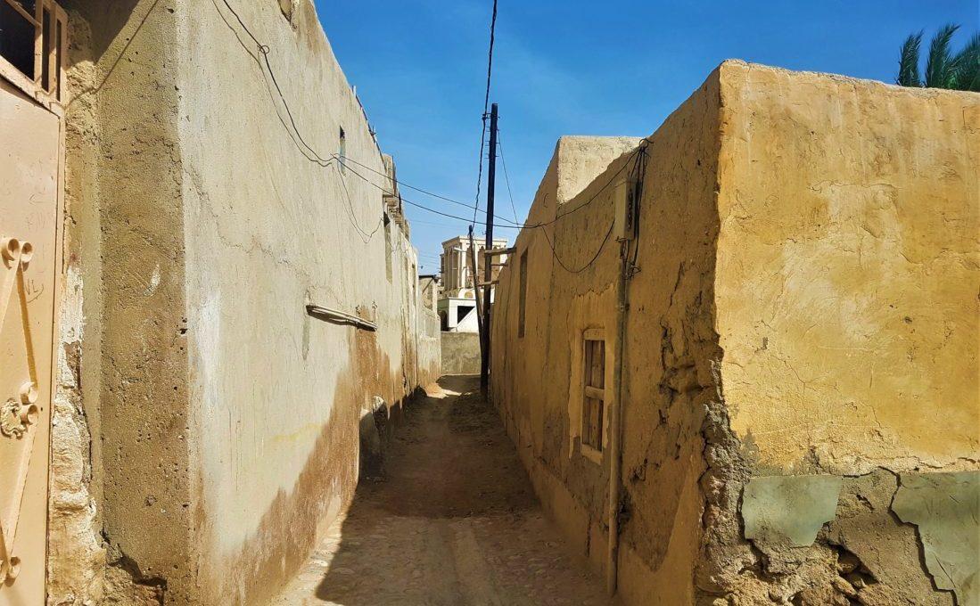 Keşm Adası, Laft Şehrinin daracık sokakları