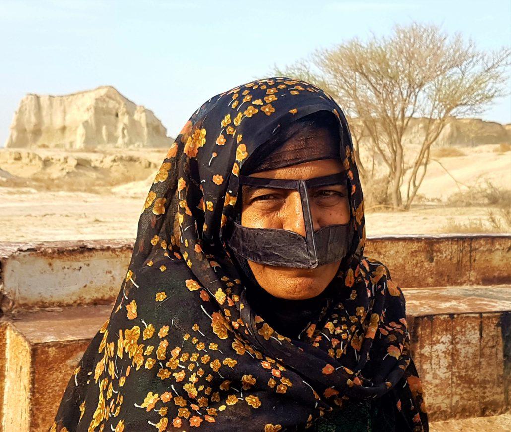 Keşm Adası Maskeli Kadını