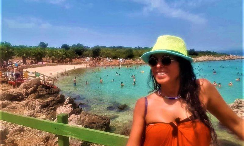 Sedir Adası, Kleopatra Plajı ve Antik Kalıntıları