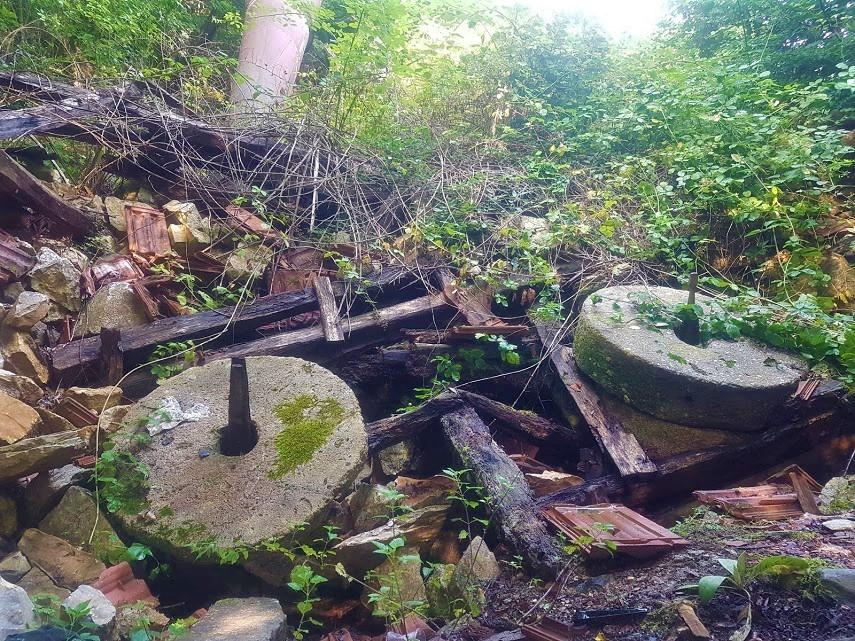 Sansarak Kanyonu Eski Değirmen
