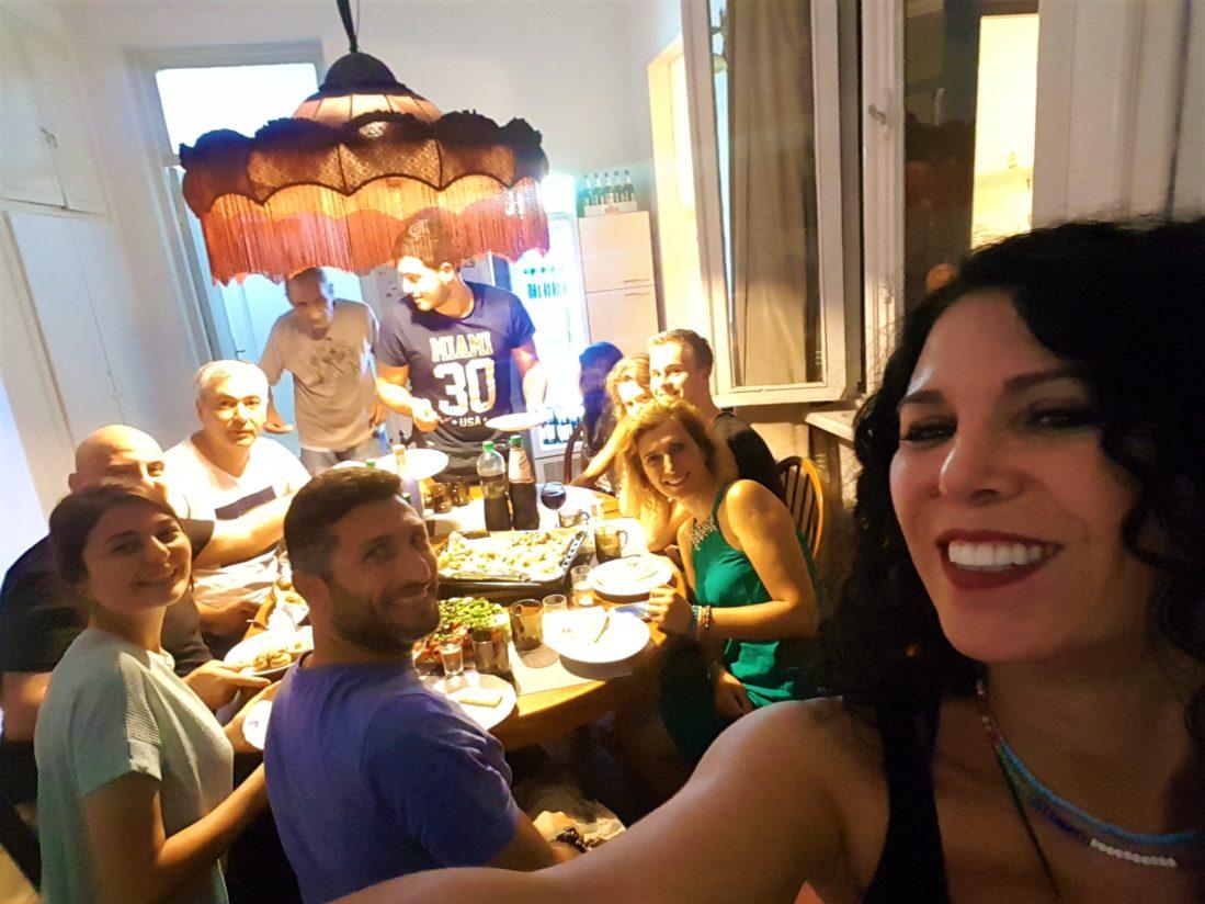 Tiflis Lit Hostel, Hostel sahibi Uran'ın doğum günü