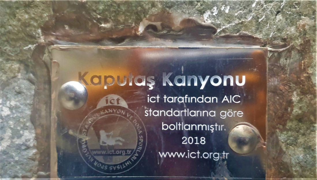 İCT Kendi imkanlarıyla Türkiye'de ki kanyonları Avrupa Standartlarında boltluyor
