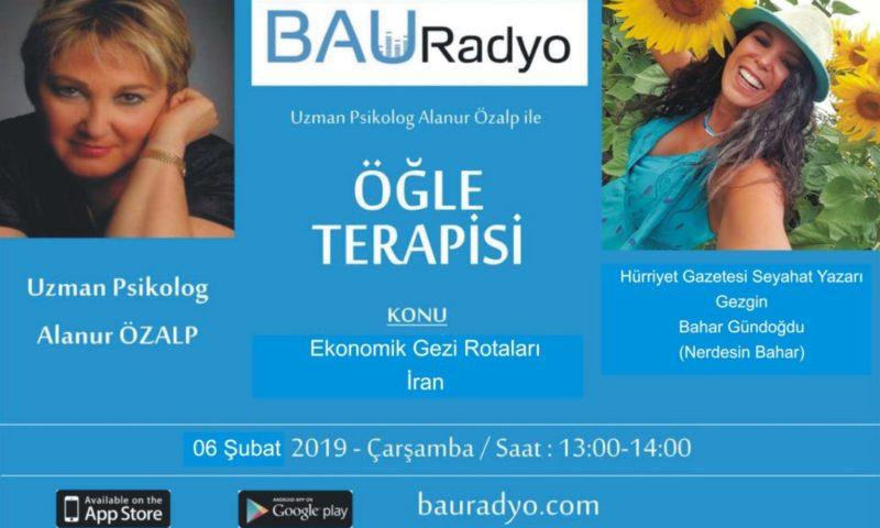 Bahçeşehir Üniversitesi Bau Radyo Konuğuyum