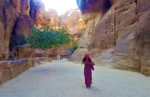 Petra'ya doğru