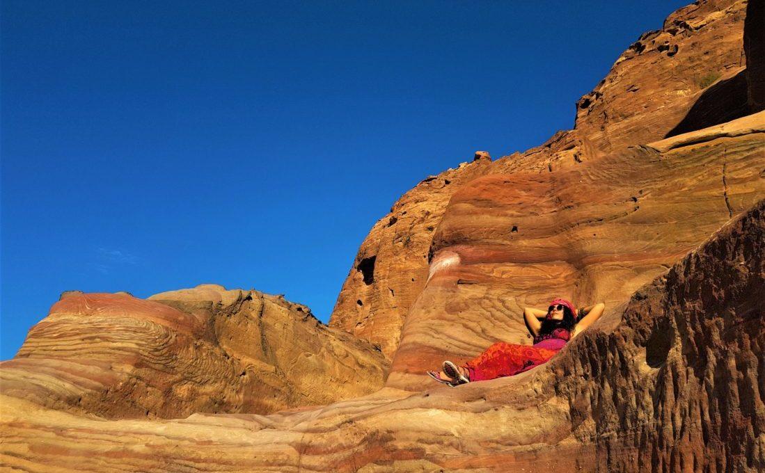 Rengarenk kayaların enerjisine emanetim