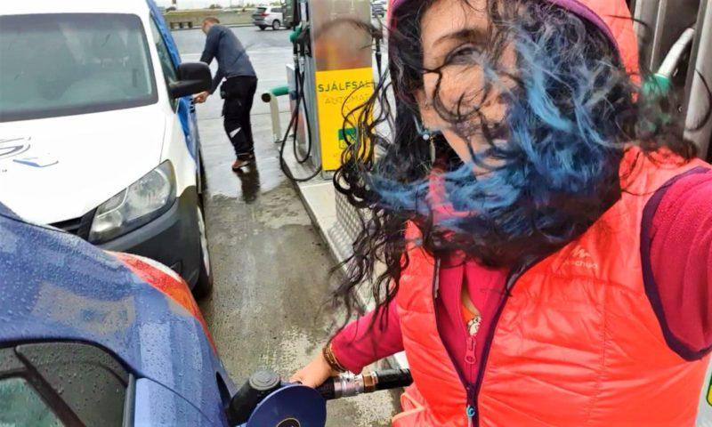 İzlanda'da Benzin Alabilmek